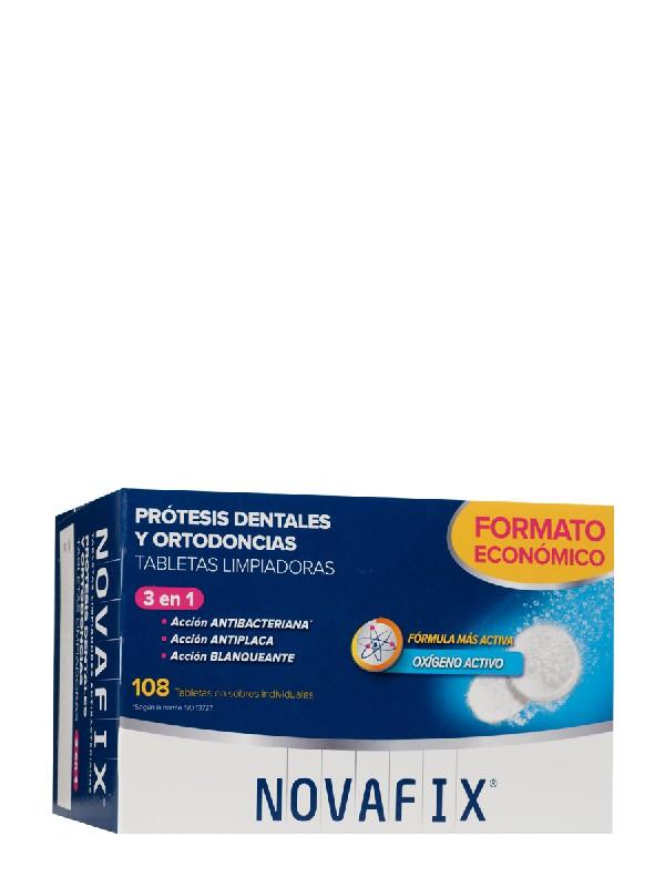 Formato ahorro novafix tabletas antibacterianas 108 tabletas