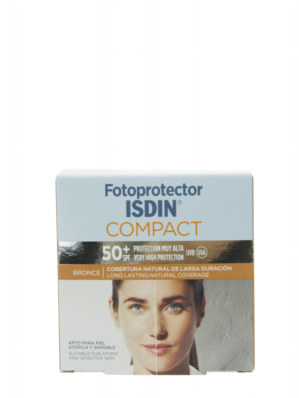 Isdin fotoprotector compact maquillaje bronce spf 50+