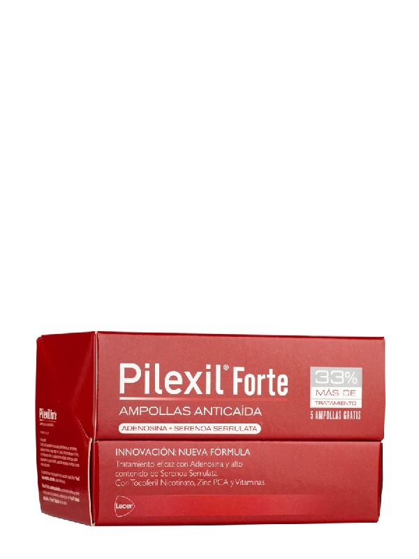 Pilexil forte 15 ampollas