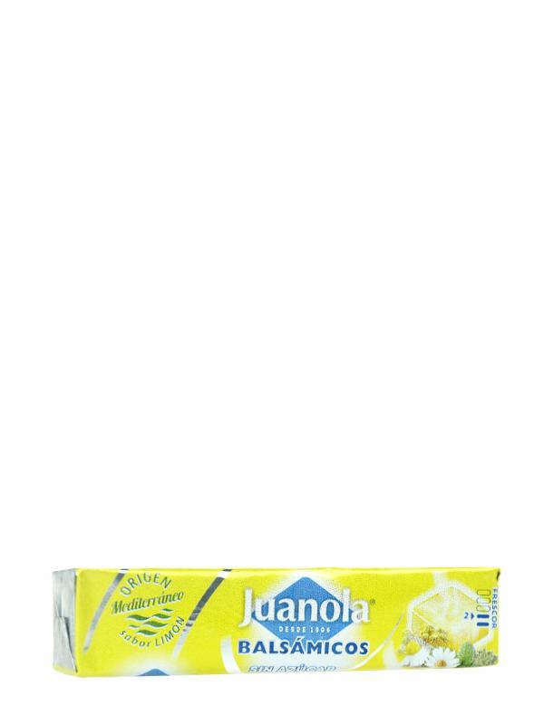Juanola caramelos balsámicos limón, vitamina c y hierbas medicinales 30gr