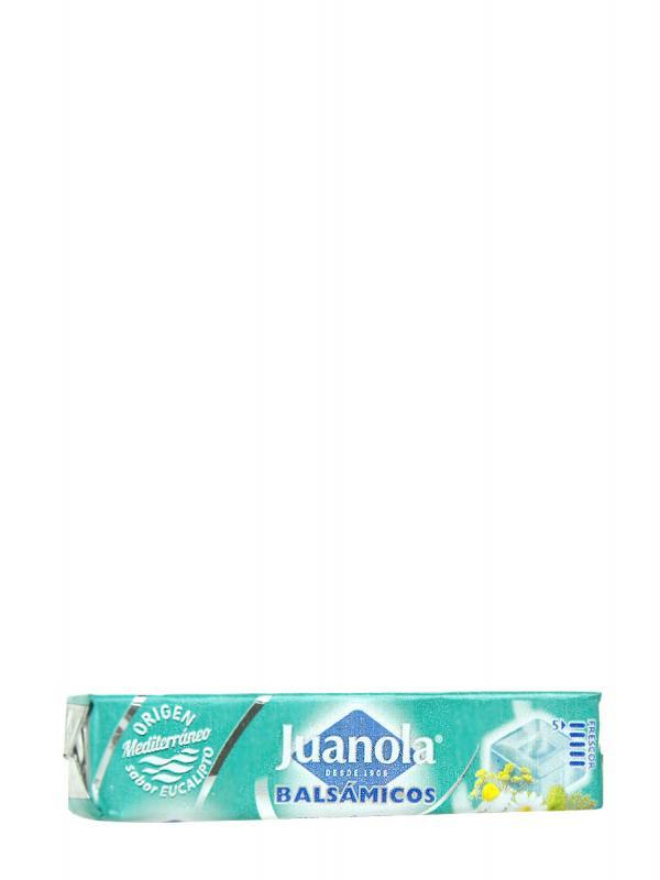 Juanola caramelos balsámicos eucalipto, vitamina c y hierbas medicinales