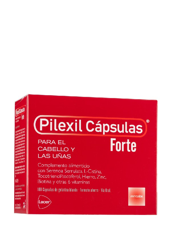 Pilexil capsulas forte 100 cápsulas