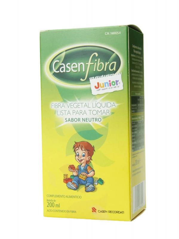 Casenfibra junior fibra vegetal líquida sabor neutro 200 ml