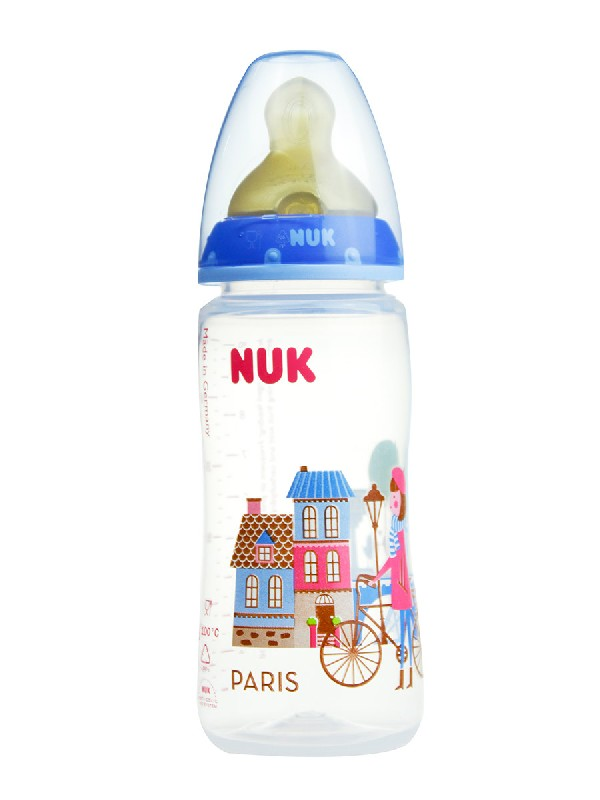 Nuk biberon travel  latex t2 300 ml