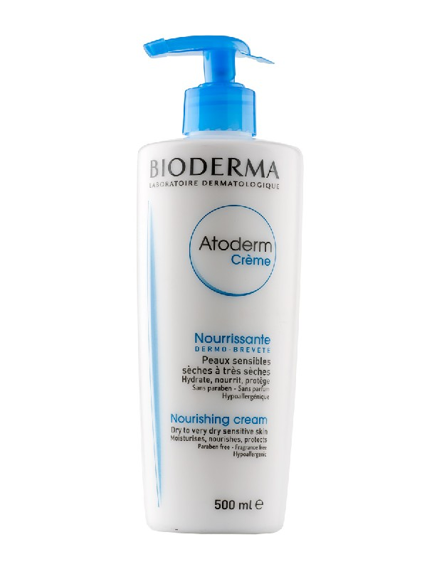Atoderm crema con dispensador, 500 ml