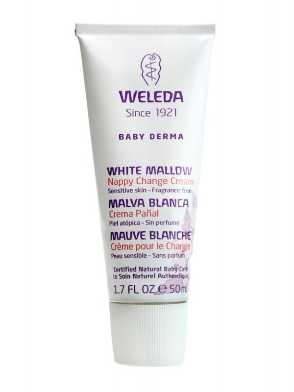 Weleda crema pañal bebe malva blanca 50 ml