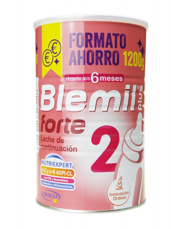 Blemil plus forte 2 leche de continuación 1200 gr