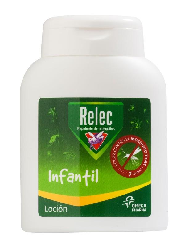 Relec loción infantil repelente de mosquitos 125 ml