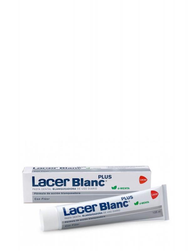 Lacer blanc plus pasta dental sabor menta 125 ml