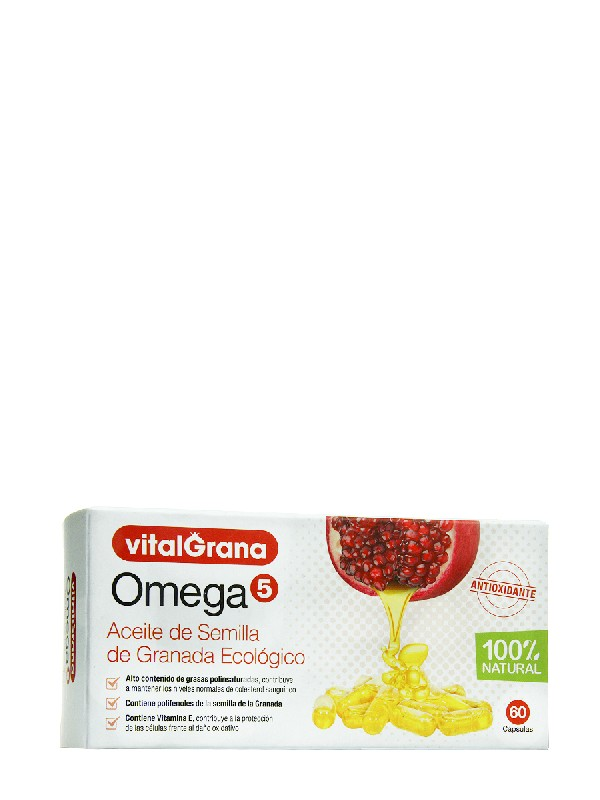 Vitalgrama omega 5 60 cápsulas