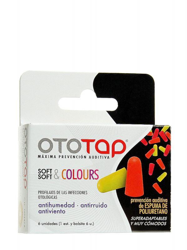 Oto-tap tapones oidos soft & colours poliuretano