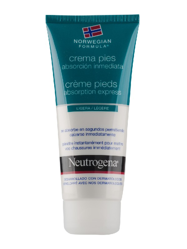 Neutrogena pies absorcion inmediata 100ml