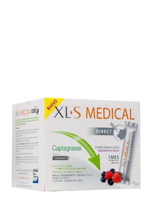 Xls medical captagrasas sticks 90 sobres