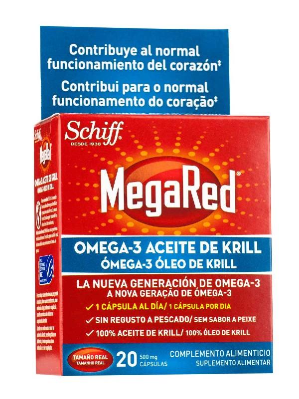 Megared 500 mg 20 cápsulas