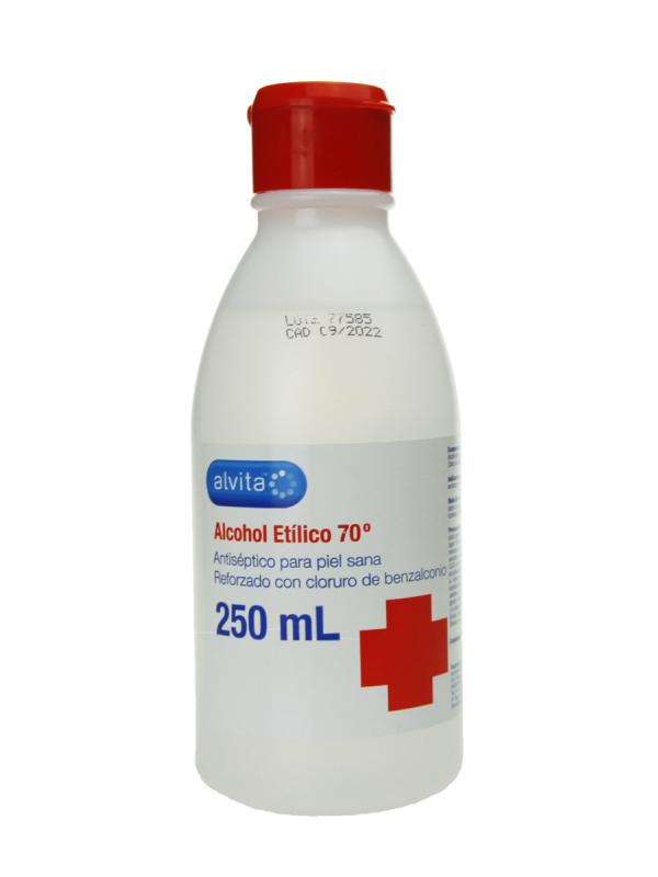 Alvita alcohol etilico 70º 250ml