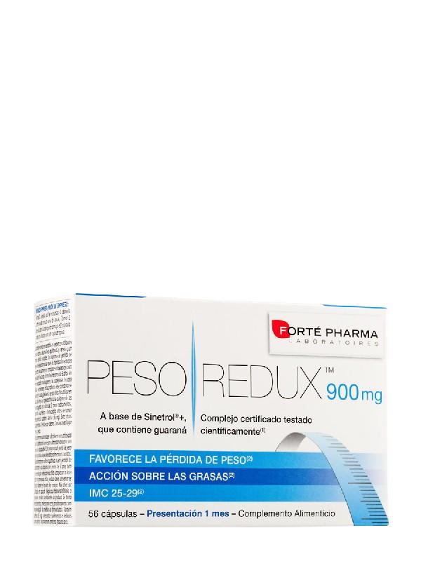 Pesoredux forte pharma 900mg, 56 cápsulas