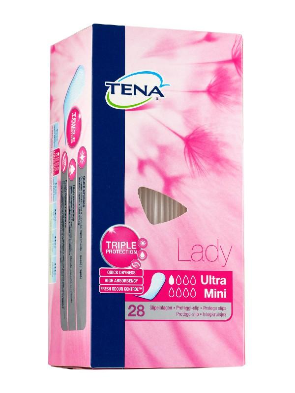 Tena lady ultra mini  slips 28 protege