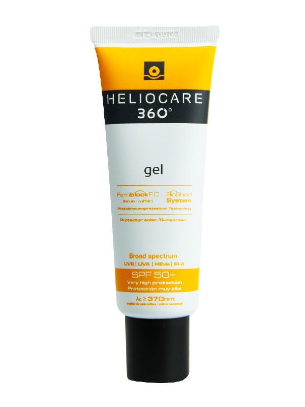 Heliocare 360º gel facial spf 50+ 50 ml