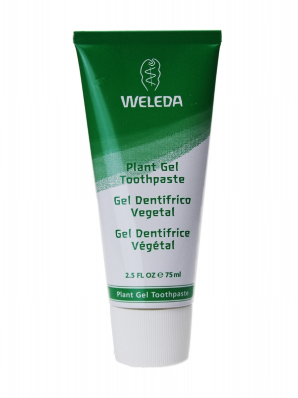 Weleda gel dentífrico vegetal 75 ml