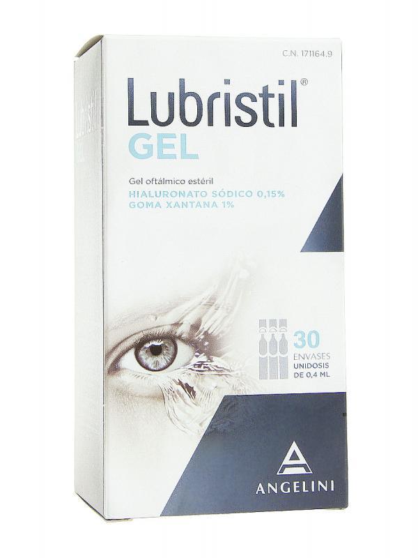 Lubristil® gel oftálmico estéril 30 unidades monodosis