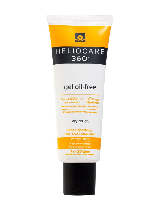 Heliocare® 360º gel facial oil free spf 50  50 ml