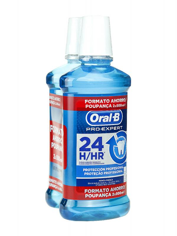 Oral-b colutorio pro expert multiprotección 2 unidades