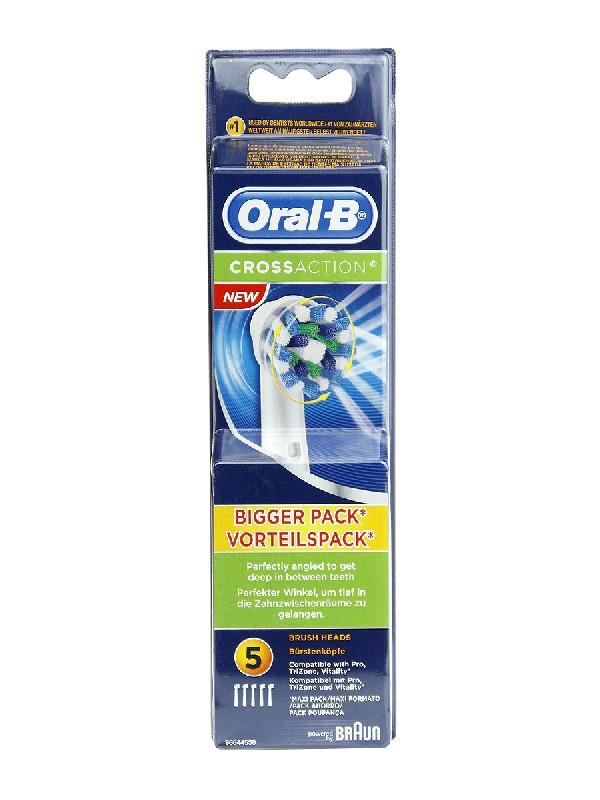 Recambio de cepillo eléctrico oral b crossaction  5