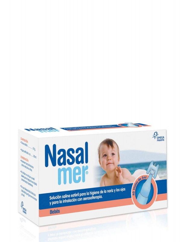 Nasalmer viales 5ml x 40 unidades