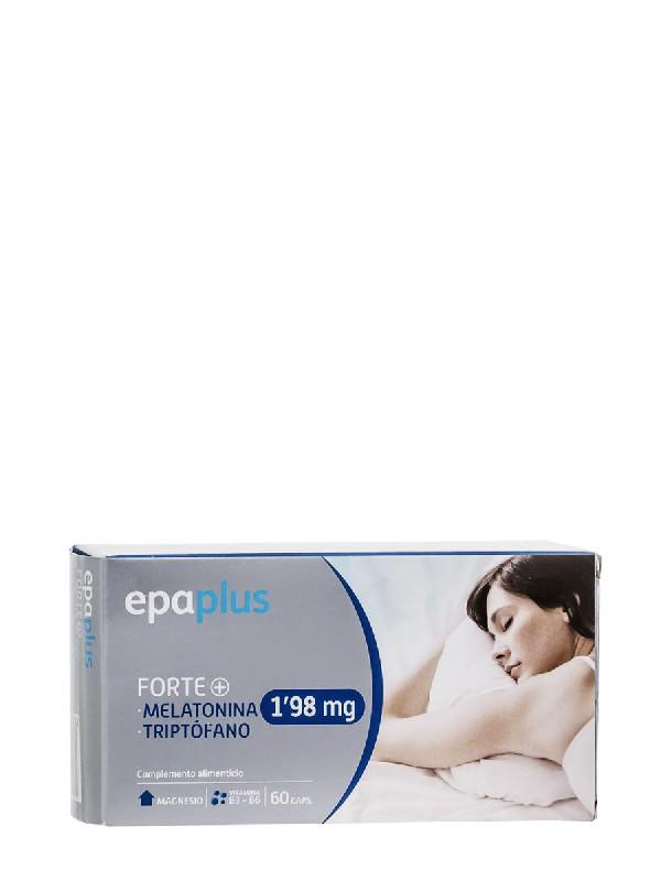 Epaplus forte® melatonina y triptófano 1,98 mg 60 cápsulas