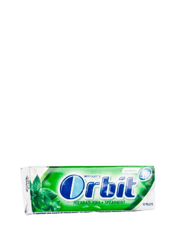 Chicles sabor hierbabuena orbit, 10 grageas
