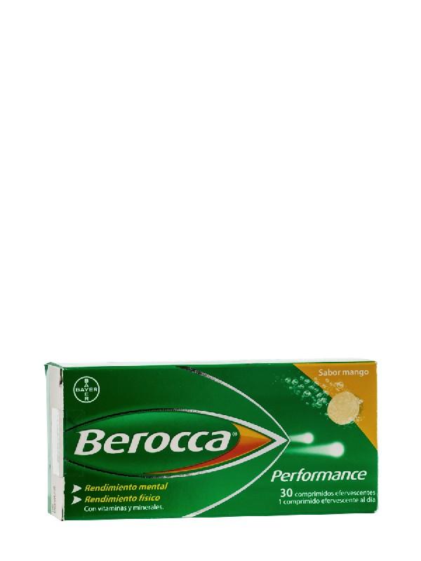 Berocca performance mango 30 comprimidos  efervescentes  bayer