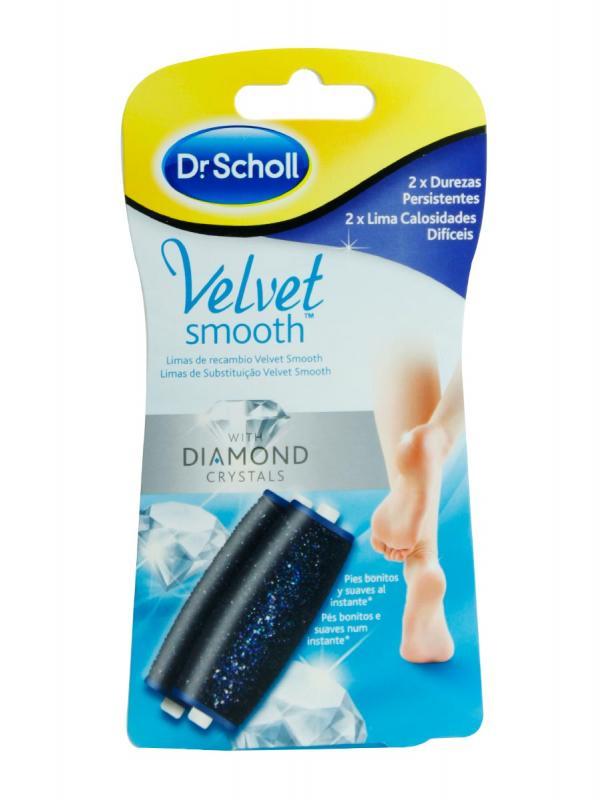 Dr scholl velvet smooth recambio diamante duro