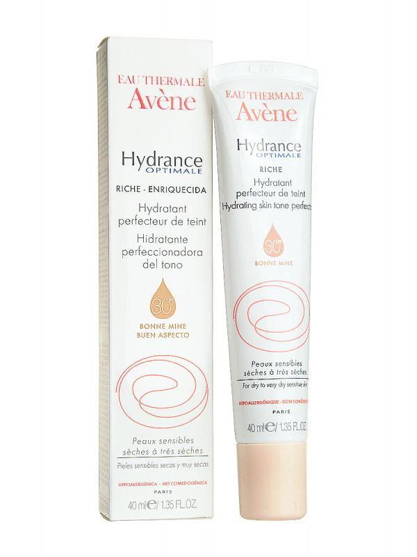 Avène hydrance rica con color spf 30 40 ml