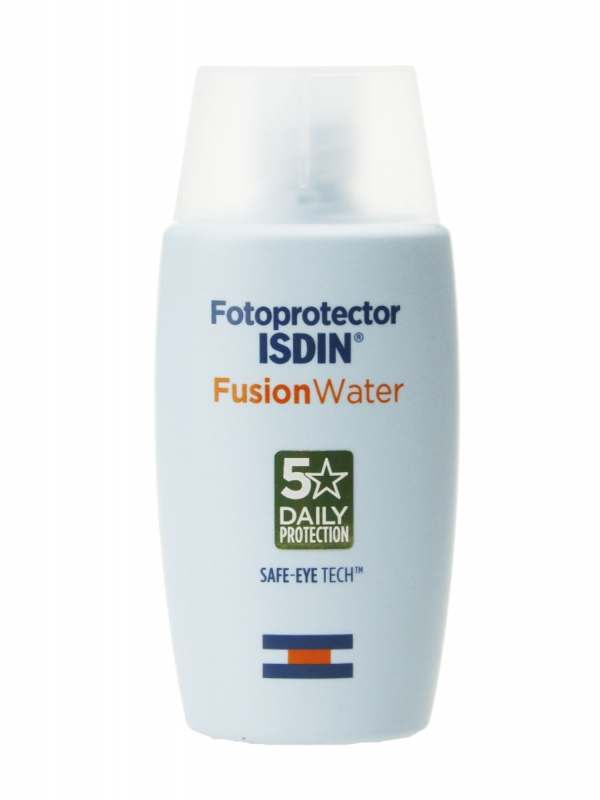 Isdin fusion water sin color spf 50+ 50 ml