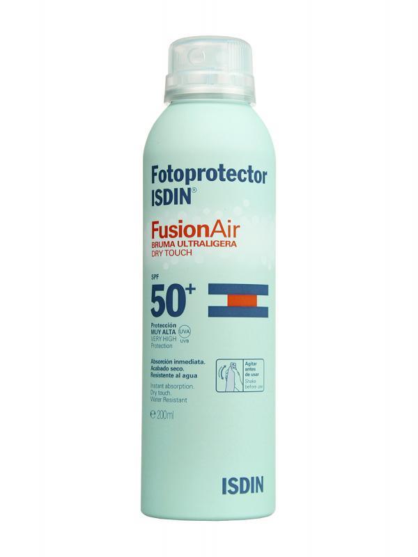Isdin fotoprotector fusion air spray spf 50+ 200ml