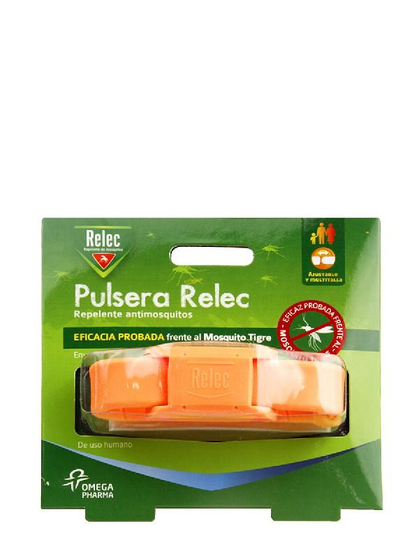 Relec pulsera antimosquitos color naranja