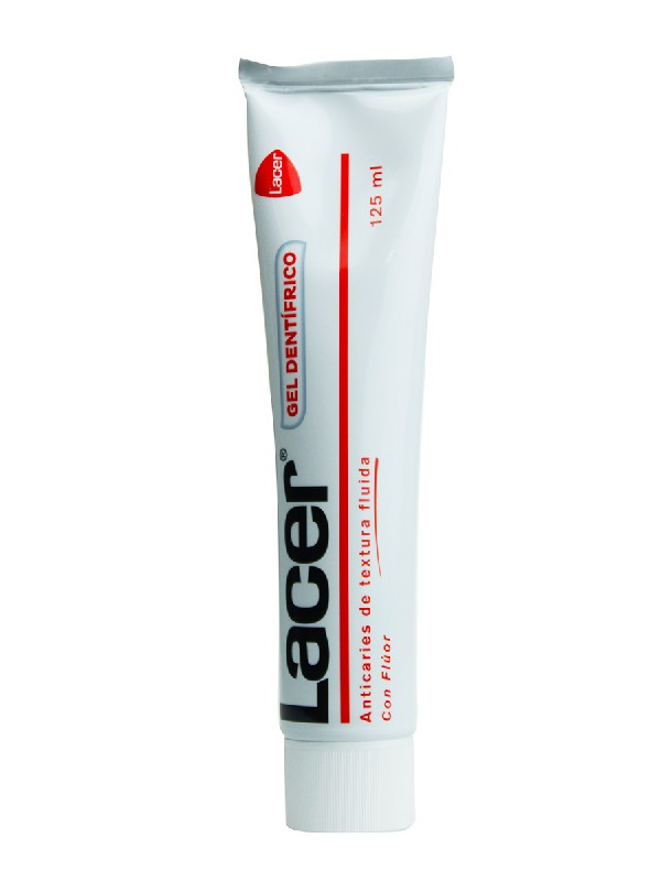 Lacer gel dental 125 ml
