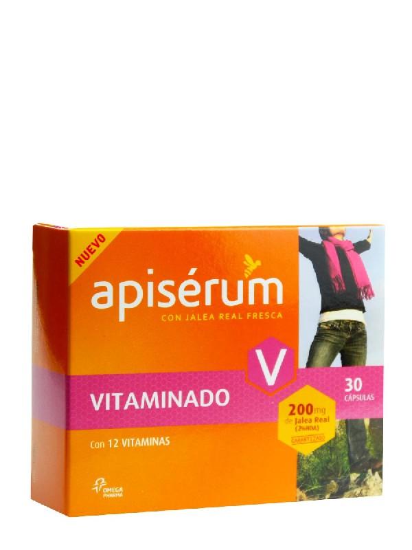 Apiserum vitaminas 30 cápsulas