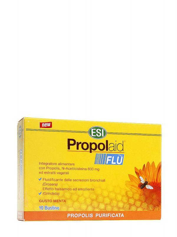 Propolaid  flu efecto fluidificante y balsámico para vías respiratorias