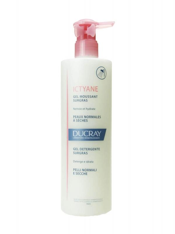 Ducray ictyane gel limpiador sobregraso 400 ml