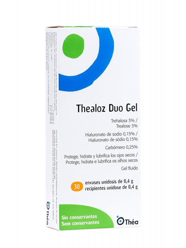 Thealoz duo gel 0,4g 30 unidosis