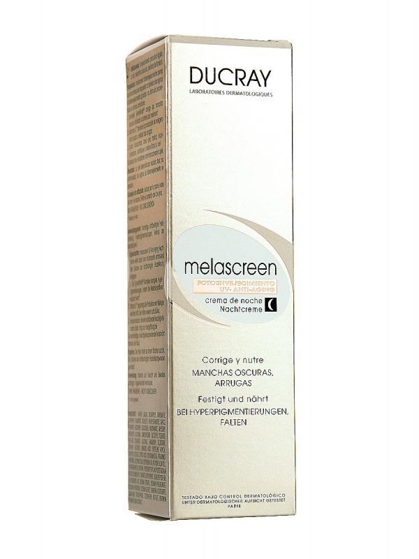 Crema de noche antimanchas melascreen de ducray 50ml.