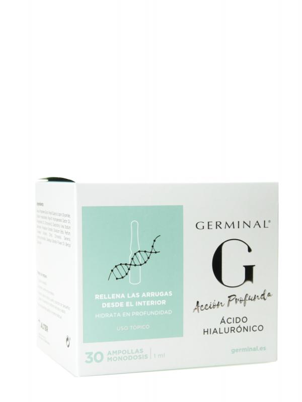 Germinal ácido hialurónico 30 ampollas