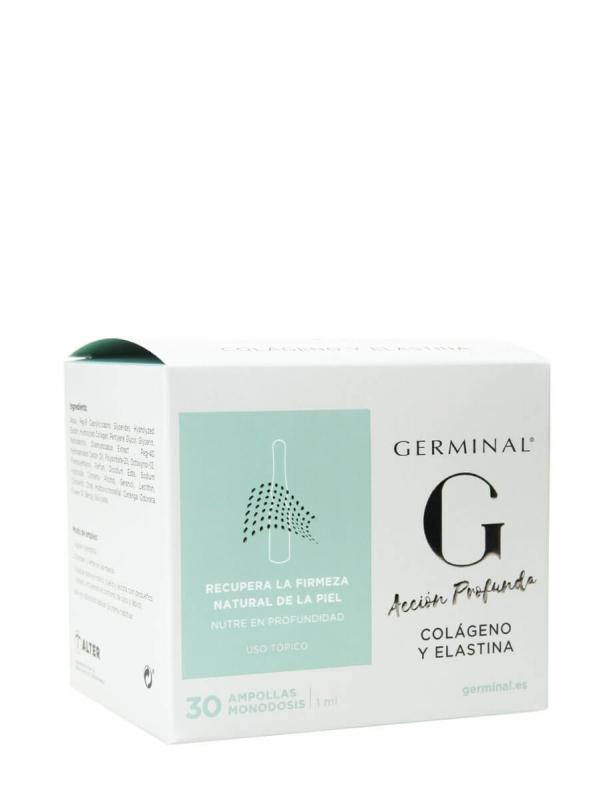 Germinal colágeno y elastina 30 ampollas 1 ml