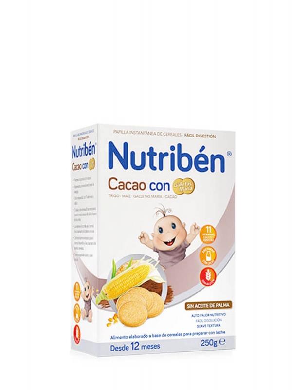 Nutribén cacao con galletas maría 500 gr