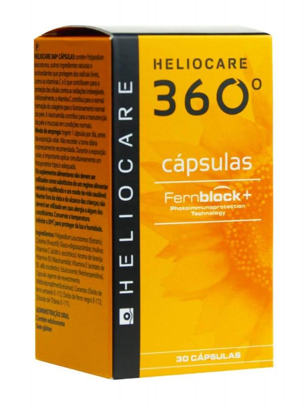 Heliocare 360º oral 30 cápsulas