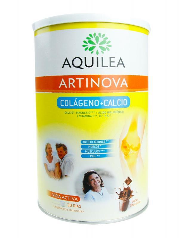 Aquilea artinova colágeno+calcio sabor chocolate 495 g