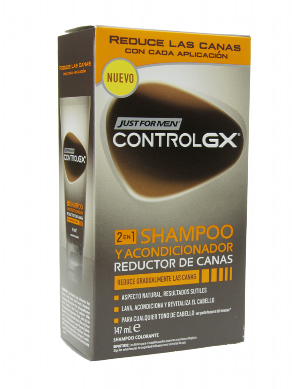 Just for men control gx champú y acondicionador 147ml