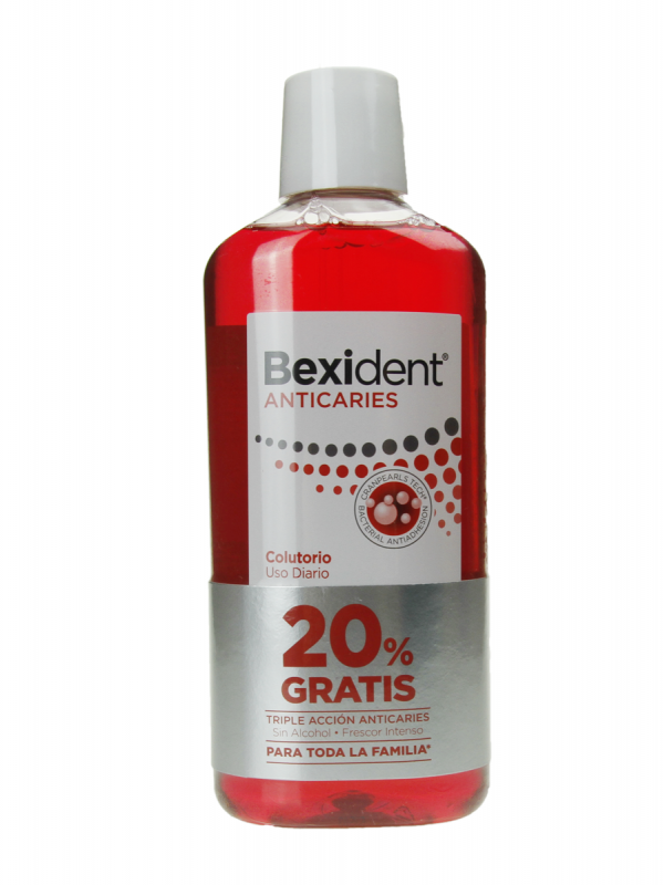 Bexident colutorio anticaries 500 ml