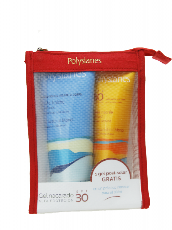 Polysianes pack gel spf 30 125 ml+ gel fresco gratis